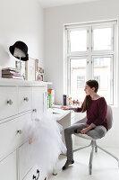 Bildnr.: 11325192<br/><b>Feature: 11325156 - Blogger-Style</b><br/>Das Zuhause von Bloggerin Tina in Kopenhagen ist eine wahre Inspirationsquelle!<br />living4media / Klazinga, Jansje