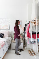 Bildnr.: 11325196<br/><b>Feature: 11325156 - Blogger-Style</b><br/>Das Zuhause von Bloggerin Tina in Kopenhagen ist eine wahre Inspirationsquelle!<br />living4media / Klazinga, Jansje