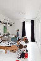 Bildnr.: 11325198<br/><b>Feature: 11325156 - Blogger-Style</b><br/>Das Zuhause von Bloggerin Tina in Kopenhagen ist eine wahre Inspirationsquelle!<br />living4media / Klazinga, Jansje
