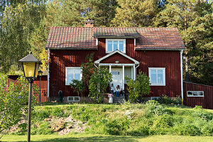 Bildno.: 11331292<br/><b>Feature: 11331251 - Rural Romantic</b><br/>Beautifully renovated house in Dalarna, Sweden<br />living4media / M&#246;ller, Cecilia
