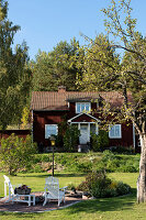 Bildno.: 11331298<br/><b>Feature: 11331251 - Rural Romantic</b><br/>Beautifully renovated house in Dalarna, Sweden<br />living4media / M&#246;ller, Cecilia