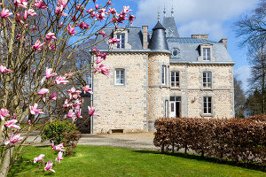 Bildno.: 11341428<br/><b>Feature: 11341427 - My Castles are my Home</b><br/>Bed and Breakfast in Lucerne-d&#39;Outremer, Normandy<br />living4media / Hallot, Olivier