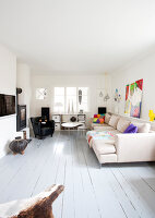 Bildno.: 11345556<br/><b>Feature: 11345553 - White and Bright</b><br/>Family home in Copenhagen<br />living4media / Lene-K