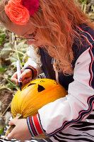 Bildno.: 11345912<br/><b>Feature: 11345897 - Pumpkin Party</b><br/>Pumpkins and Jack-o&#39;-Lanterns<br />living4media / Klazinga, Jansje