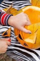 Bildno.: 11345928<br/><b>Feature: 11345897 - Pumpkin Party</b><br/>Pumpkins and Jack-o&#39;-Lanterns<br />living4media / Klazinga, Jansje