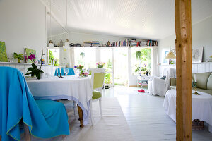 Bildno.: 11346274<br/><b>Feature: 11346253 - Jytte&#39;s Summer Dream</b><br/>Summer cottage in Denmark<br />living4media / Lene-K