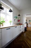 Bildno.: 11346404<br/><b>Feature: 11346397 - Copenhagen Classic</b><br/>A classic villa in Copenhagen, Denmark<br />living4media / Lene-K