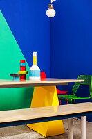 Bildnr.: 11349620<br/><b>Feature: 11349615 - Colour-Blocking</b><br/>Einrichtungs-Inspirationen mit kontrastvollen Farben<br />living4media / Bauer Syndication