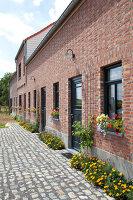 Bildnr.: 11350204<br/><b>Feature: 11350203 - Annamariekes Kreativ-Welt</b><br/>Atelier und Privathaus unter dem Dach in Belgien<br />living4media / Claessens, Bieke