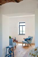 Bildnr.: 11350218<br/><b>Feature: 11350203 - Annamariekes Kreativ-Welt</b><br/>Atelier und Privathaus unter dem Dach in Belgien<br />living4media / Claessens, Bieke
