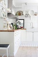 Bildno.: 11353126<br/><b>Feature: 11353089 - A Swedish Dream</b><br/>Renovated house in Dalarna, Sweden<br />living4media / M&#246;ller, Cecilia