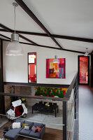 Bildnr.: 11358046<br/><b>Feature: 11358017 - Graffitis im Loft</b><br/>Franz&#246;sisches Loft mit einem Hang zur Extravaganz<br />living4media / Hallot, Olivier