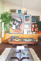 Bildno.: 11373342<br/><b>Feature: 11373326 - Retro Redux</b><br/>Sixties house in Melbourne is filled with retro details<br />living4media / Jeffcott, Natalie