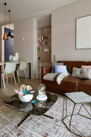 Bildno.: 11391756<br/><b>Feature: 11391754 - Warsaw Modern</b><br/>Sleek contemporary apartment in the Polish capital<br />living4media / Hristov, Yassen
