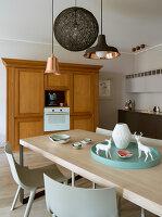 Bildno.: 11391762<br/><b>Feature: 11391754 - Warsaw Modern</b><br/>Sleek contemporary apartment in the Polish capital<br />living4media / Hristov, Yassen