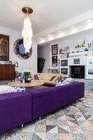 Bildno.: 11392718<br/><b>Feature: 11392685 - Missoni Magic</b><br/>Designer&#39;s house in Como, Italy<br />living4media / Cimarosti, Brando