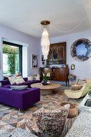 Bildno.: 11392724<br/><b>Feature: 11392685 - Missoni Magic</b><br/>Designer&#39;s house in Como, Italy<br />living4media / Cimarosti, Brando