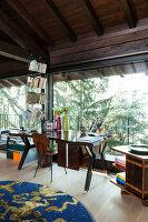 Bildno.: 11392732<br/><b>Feature: 11392685 - Missoni Magic</b><br/>Designer&#39;s house in Como, Italy<br />living4media / Cimarosti, Brando
