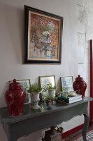 Bildnr.: 11394060<br/><b>Feature: 11394048 - Franz&#246;sische Geschichte</b><br/>Stilecht eingerichtetes Haus aus dem 18. Jahrhundert in P&#233;rigord<br />living4media / Hallot, Olivier