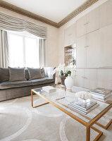 Bildnr.: 11394116<br/><b>Feature: 11394101 - An der Themse</b><br/>Wohnung im Georgianischen Stil mit Blick auf die Tower-Bridge, London<br />living4media / Cox, Stuart