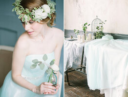 Bildno.: 11399480<br/><b>Feature: 11399471 - Floral Temptations</b><br/>Wedding accessories to complement the big day<br />living4media / Dogadaeva, Elizaveta