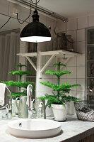 Bildnr.: 11400340<br/><b>Feature: 11400280 - Wohliges Winter-Wei&#223;</b><br/>Weihnachten bei Familie Hirsch in Schweden<br />living4media / M&#246;ller, Cecilia