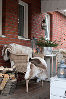 Bildnr.: 11400354<br/><b>Feature: 11400280 - Wohliges Winter-Wei&#223;</b><br/>Weihnachten bei Familie Hirsch in Schweden<br />living4media / M&#246;ller, Cecilia