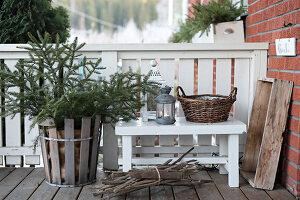 Bildnr.: 11400356<br/><b>Feature: 11400280 - Wohliges Winter-Wei&#223;</b><br/>Weihnachten bei Familie Hirsch in Schweden<br />living4media / M&#246;ller, Cecilia