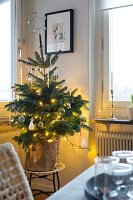 Bildno.: 11402980<br/><b>Feature: 11402958 - Scaled Down Christmas</b><br/>Natural and minimalist holiday d&#233;cor in Sweden<br />living4media / M&#246;ller, Cecilia