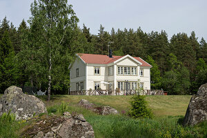 Bildno.: 11403968<br/><b>Feature: 11403887 - Home Coming</b><br/>Family home in K&#228;ngsebo, Sweden<br />living4media / M&#246;ller, Cecilia