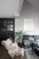 Bildno.: 11404400<br/><b>Feature: 11404388 - Northern Glamour</b><br/>Harmonious home on the Oslo Fjord in Norway<br />living4media / Nordstrom, Annette