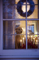 Bildno.: 11407136<br/><b>Feature: 11407099 - A Cultural Mix</b><br/>Swedish home in Nebraska is all decked out for Christmas<br />living4media / Brandt, Jenny