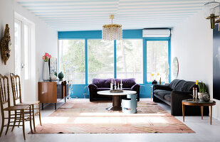 Bildno.: 11409206<br/><b>Feature: 11409190 - Nordic Colours</b><br/>A townhouse in Stockholm full of colour for a young family<br />living4media / Brandt, Jenny