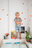 Zdjęcie numer: 11409292<br/><b>Feature: 11409243 - The Playful Home</b><br/>A young family creates one big playpen in Sweden<br />living4media / Brandt, Jenny