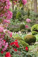 Bildno.: 11428708<br/><b>Feature: 11428706 - Tulip Time</b><br/>Spring garden in The Netherlands<br />living4media / Pietrek, Sibylle