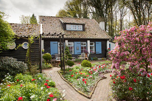 Bildno.: 11428710<br/><b>Feature: 11428706 - Tulip Time</b><br/>Spring garden in The Netherlands<br />living4media / Pietrek, Sibylle