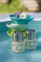 Bildno.: 11432270<br/><b>Feature: 11432236 - Accessories for Granny&#39;s Garden</b><br/>Crotcheting squares and the like for a summer look<br />living4media / Allig, Birgid