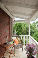 Bildno.: 11434866<br/><b>Feature: 11434863 - Swinging on the Veranda</b><br/>Don&#39;t have a veranda? Here&#39;s a detailed how-to for creating that special space<br />living4media / Selbermachen Media / Krebs, Eike