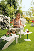 Bildno.: 11435052<br/><b>Feature: 11435016 - Retro Relax</b><br/>Build your own classic Adinorack chair<br />living4media / Selbermachen Media / Bordes, Christian