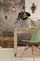 Bildno.: 11440242<br/><b>Feature: 11440234 - Green Forever</b><br/>Green is the ultimate colour in this decorating scheme<br />living4media / Great Stock!