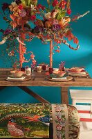 Bildno.: 11440614<br/><b>Feature: 11440613 - The Holiday Table</b><br/>Trendy looks for setting the holiday table<br />living4media / Great Stock!