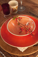 Bildno.: 11440618<br/><b>Feature: 11440613 - The Holiday Table</b><br/>Trendy looks for setting the holiday table<br />living4media / Great Stock!