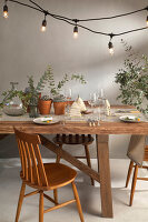 Bildno.: 11440632<br/><b>Feature: 11440613 - The Holiday Table</b><br/>Trendy looks for setting the holiday table<br />living4media / Great Stock!