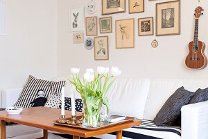 Immagine N°: 11447484<br/><b>Feature: 11447452 - At Home with Linda</b><br/>A Swedish illustrator&#39;s home<br />living4media / M&#246;ller, Cecilia