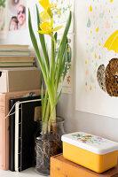 Bildnr.: 11447508<br/><b>Feature: 11447452 - Illustres Zuhause</b><br/>Kinderbuchautorin Linda liebt auch zuhause grafische Elemente, Schweden<br />living4media / M&#246;ller, Cecilia