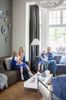 Bildno.: 11447640<br/><b>Feature: 11447596 - At Home with Haijkje</b><br/>Designer&#39;s home in The Netherlands<br />living4media / Marder, Holly