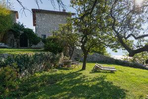 Bildno.: 11452004<br/><b>Feature: 11451948 - Lakeside Living</b><br/>Spectacular home on the western shore of Lake Garda, Italy<br />living4media / studiow&#228;lder
