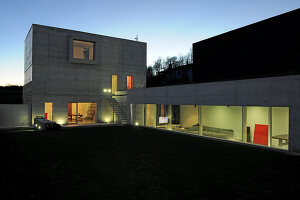 Bildno.: 11458074<br/><b>Feature: 11458071 - Architecture Pure</b><br/>Architect&#39;s home in Tessin, Switzerland<br />living4media / Maulini, Pier