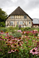 Bildno.: 11458620<br/><b>Feature: 11458614 - Farmhouse Nostalgia</b><br/>Typical farm garden in Denmark<br />living4media / Lene-K