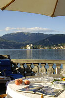 Bildno.: 11503188<br/><b>Feature: 11503153 - For the Love of the Lake</b><br/>A restored boat house on Lago d&#39;Orta in northern Italy<br />living4media / Maulini, Pier